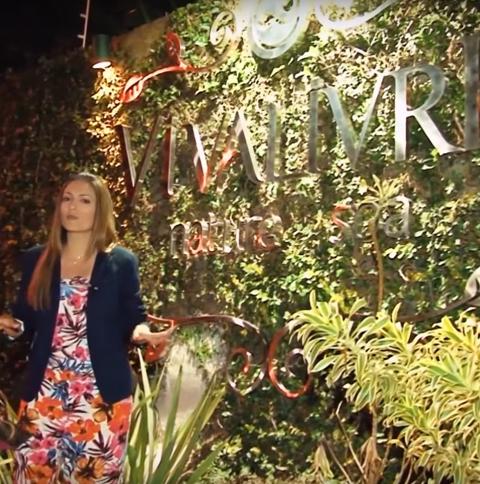 Sara Presoto no Vivalivre Nature Spa